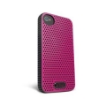 ifrogz iPhone 4 & 4S Breeze - Black/Pink - Shock Absorbent