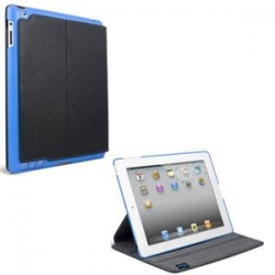 ifrogz Carrying Case (Folio) for iPad - Black, Blue