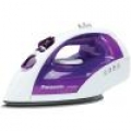 Panasonic U-Shape Electric Iron with Steam Circulating Soleplate and Retractable Cord and Auto Shot-Off