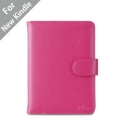 "Acase Classic Kindle Leather Case (Hot pink) for 4th Generation 6"" Kindle Wi-Fi w/o Keyboard (Not for Kindle Touch)*"