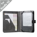 "Acase Kindle 3 Professional Leather Case (Black) (Fits 6"" Display, Latest Generation Kindle)"
