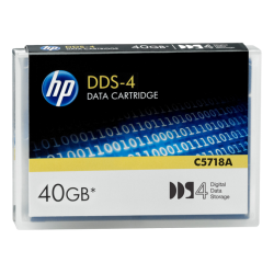 HP DDS-4 40 GB Data Cartridge (150m) (C5718A)