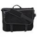 Classic Gear Black Messenger/Laptop Bag (Large)