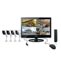 "Samsung SME-2220 8 Channel 22"" LCD Monitor with Built-in DVR"