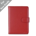 "Acase Classic Kindle Leather Case (Red) for 4th Generation 6"" Kindle Wi-Fi w/o Keyboard (Not for Kindle Touch)"