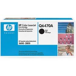 HP Color LaserJet Q6470A BLACK Toner Cartridge
