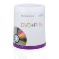 Memorex DVD+R 16x 4.7GB 100 Pack Spindle