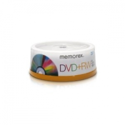Memorex 4x DVD+RW 25-Pack Spindle