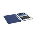 IntelliCase Carrying Case (Folio) for iPad - Midnight Blue